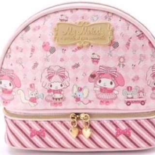 Sweet Sanrio My Melody cosmetics pouch - 2 layers