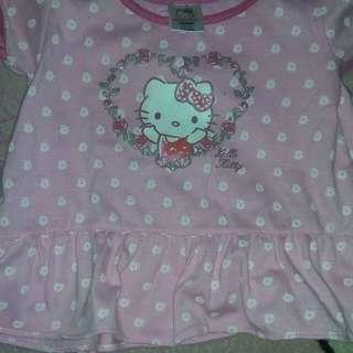 Preloved Hello Kitty Terno