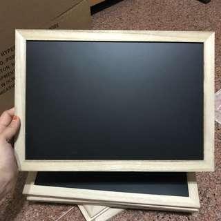 Daiso A4 size Blackboards