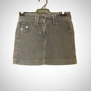 FCUK denim grey miniskirt