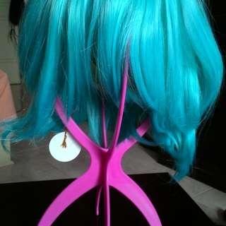 Tiffany Blue Wig