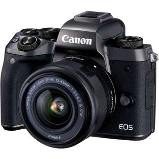 Canon EOS M5 Kit (15mm-45mm)