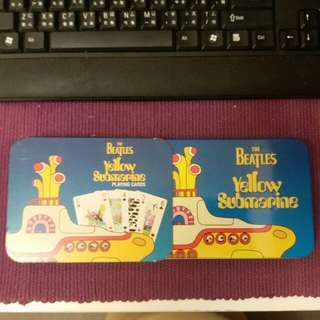 (包郵) The Beatles Yellow Submarine Special Edition Playing Cards