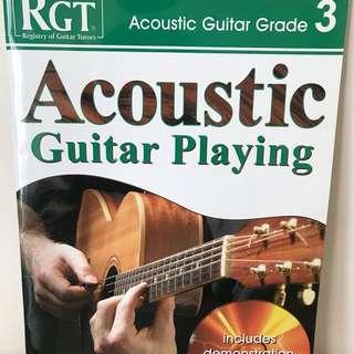 RGT Acoustic Guitar Grade 3