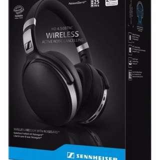Sennheiser HD 4.50 Bluetooth Wireless Headphones with Active Noise Cancellation (HD 4.50 BTNC)