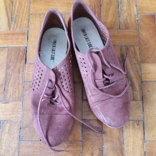 Lower East Side Suede Oxford