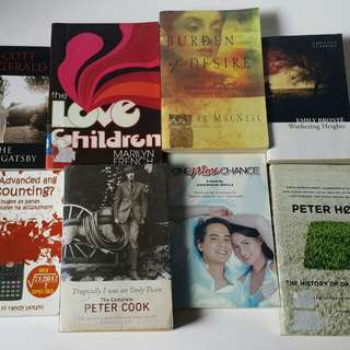 Books for P100 each!