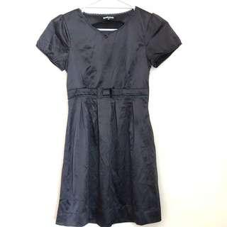 Little black dress - sateen feel