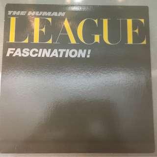 "Human League – Fascination!, 12"" Single Vinyl, A&M Records – SP-12501, 1983, USA"