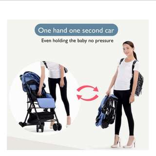 4.1kg only Super Compact Stroller + free postage + free gift