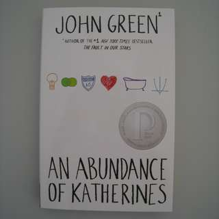An Abundance of Katherines (Brand New/Paperback/Free Postage)