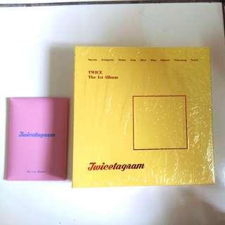 [READY STOCK] TWICE 1st Abum Twicetagram SEALED BRAND NEW (Yellow ver)