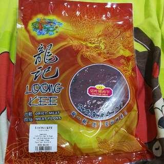 Loong Kee Pork Dried Meat(Sliced) 猪肉干