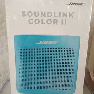 BOSE Soundlink Color II Bluetooth SPEAKER - Aquatic Blue. BNIB, with 1 Year warranty (Brand New in Box)