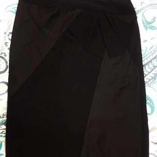 M&S Black skirt for office