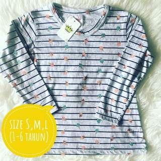 Kaos Anak Panjang
