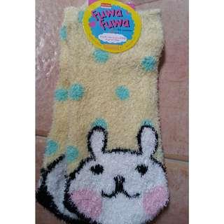 Fuwa fuwa cute cute socks