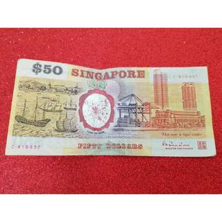 Singapore Commemorative Series- $50 Notes (C410957)