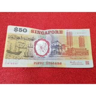 Singapore Commemorative Series- $50 Notes (C410957)