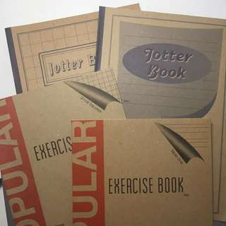 CHEAP Jotter books & Exercise books