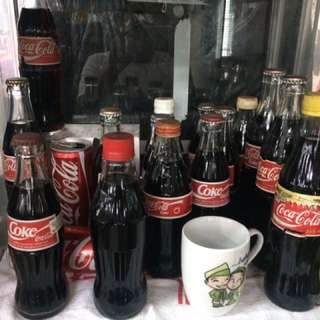 COCA COLA BOTTLE COLECTION