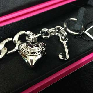 Juicy couture 銀色 手鏈 購自美國專門店 情人節 禮物