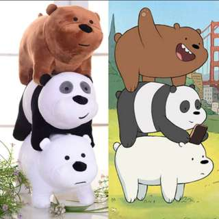 stacking we bare bears stuff toy