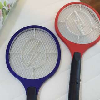 Mosquito zapper/kill - red/blue, battery or charger