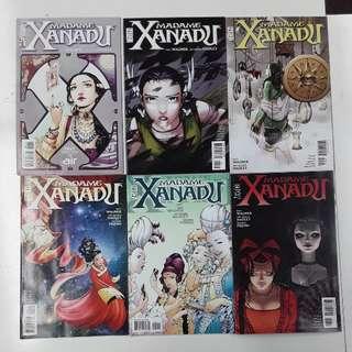 Madame Xanadu (2008 2nd Series) Disenchanted Comics Set