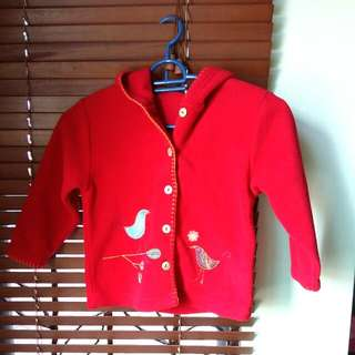 M&S Girl Fleece Jacket