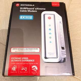 Motorola cable moderm