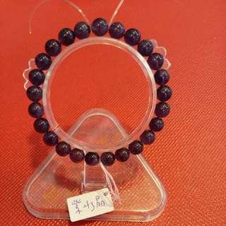 🚚 天然紫水晶8mm珠手鍊