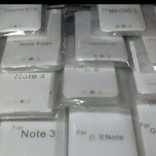$20/2pcs 各種手機套透明軟殼