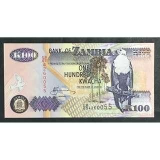 Zambia 2003 100 kwacha UNC