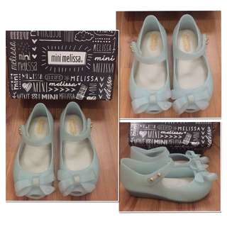 PRELOVED #minimelissa (AUTHENTIC) - Mini Melissa Ultra Girl  Bow II Green