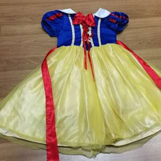 Girls' Princess Snow White Costume