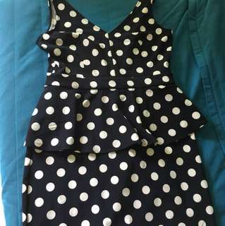 Polka Dot Dress from H&M