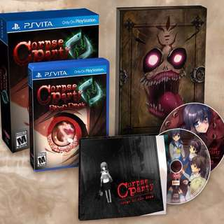 (PSVITA) Corpse Party: Blood Drive (Everafter Edition)