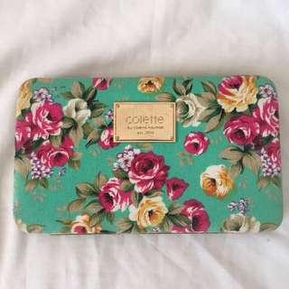 Floral clutch/wallet