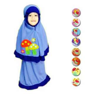 Mukena little girls