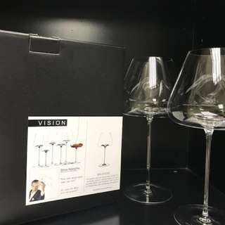Zieher luxury wine glasses from Germany