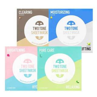 NEW FROM 🇰🇷!!! Laneige two tone sheet mask