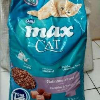 Makanan kucing Max cat food(sdh ongkir sejabodetabek)