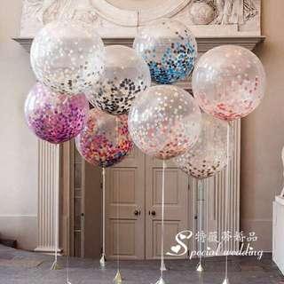 Confetti balloon fillers