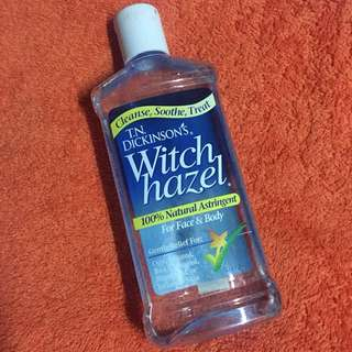 Witch hazel - for face & body