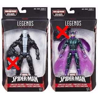 Marvel Legends Tombstone + Beetle Action Figure (BAF Not Included)