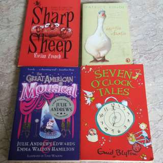 Story Books Clearance $5