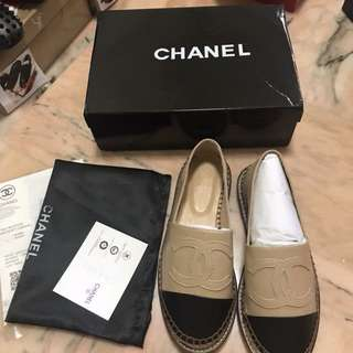 Chanel Espadrilles Platform