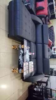 Sofa L black