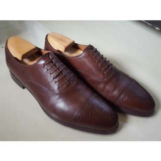 Meermin Dark Brown Oxford + Shoe Tree